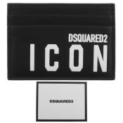 DSQUARED2 Icon Card Holder Black