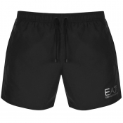 EA7 Emporio Armani Sea World Swim Shorts Black