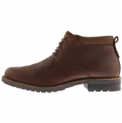 Barbour Barnard Boots Walnut