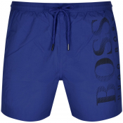 BOSS Octopus Swim Shorts Blue