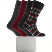 BOSS Four Pack Sock Gift Set