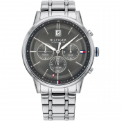 Tommy Hilfiger Kyle Watch Silver