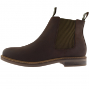 Barbour Farsley Boots Chocolate Brown