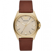 Emporio Armani AR11287 Watch Gold