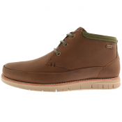 Barbour Nelson Boots Chocolate Brown