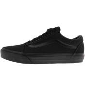Vans Old Skool Canvas Trainers Black