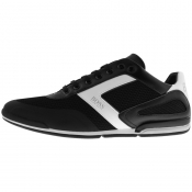 BOSS Saturn Lowp Trainers Black
