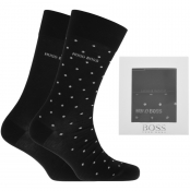 BOSS Two Pack Sock Gift Set Black