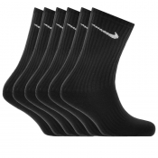 Nike Six Pack Socks Black