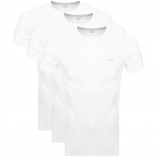 Diesel UMTEE Jake Triple Pack T Shirts White