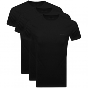 Diesel UMTEE Jake Triple Pack T Shirts Black
