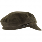 Pretty Green Cord Cinnamon Hat Khaki