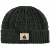 Pretty Green Weller Beanie Hat Green