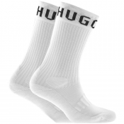 BOSS Two Pack Socks White