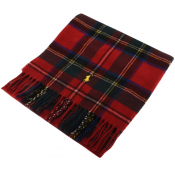 Ralph Lauren Wool Scarf Red