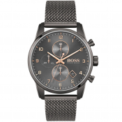 BOSS 1513837 Skymaster Watch Grey