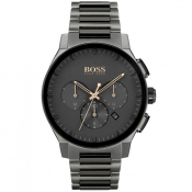 BOSS 1513814 Peak Watch Black