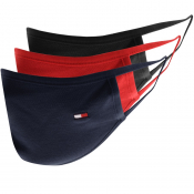 Tommy Hilfiger Three Pack Face Masks