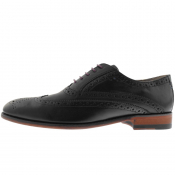 Sweeney London Fellbeck Brogue Shoes Black