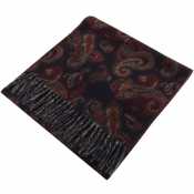 Ted Baker Paisley Printed Scarf Navy