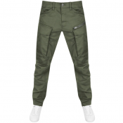 G Star Raw Rovic Tapered Trousers Green