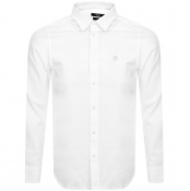 Diesel S Bill Slim Fit Long Sleeve Shirt White