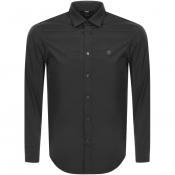 Diesel S Bill Slim Fit Long Sleeve Shirt Black