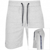 Tommy Hilfiger Loungewear Taped Logo Shorts Grey