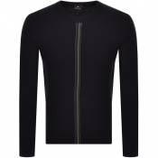 PS By Paul Smith Crew Neck Knit Jumper Black