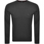 BOSS Pacas L Knit Jumper Grey
