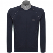 BOSS Bodywear Full Zip Sweatshirt Navy