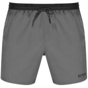 BOSS Starfish Swim Shorts Grey