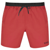 BOSS Starfish Swim Shorts Red