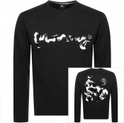 Money Sig Ape Camo Logo Sweatshirt Black