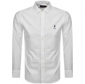 Ralph Lauren Oxford Long Sleeve Shirt White