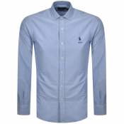 Ralph Lauren Oxford Long Sleeve Shirt Blue