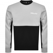 Nike Air Crew Neck Sweatshirt Grey