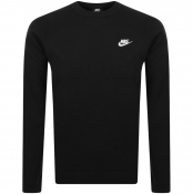 Nike Crew Neck Club Sweatshirt Black