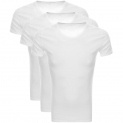 Tommy Hilfiger Loungewear 3 Pack T Shirts White