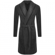 Tommy Hilfiger Loungewear Icon Bath Robe Grey