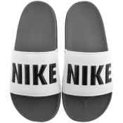 Nike Off Court Sliders Grey