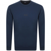BOSS Weevo Sweatshirt Navy