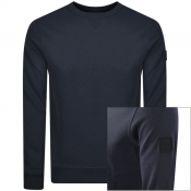 BOSS Walkup Sweatshirt Navy
