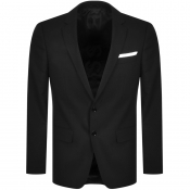 BOSS Hutsons Slim Fit Jacket Black