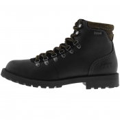 Barbour Quantock Hiker Boots Black