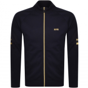 BOSS Skaz Full Zzp Sweatshirt Navy
