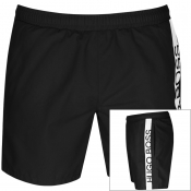 BOSS Dolphin Swim Shorts Black