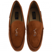 Ralph Lauren Dezi V Slippers Brown
