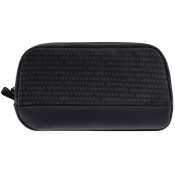 Armani Exchange Logo Wash Bag Navy