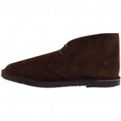 Pretty Green Suede Desert Boot Brown